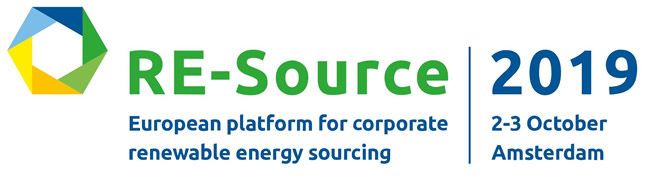 RE-Source 2019 - European Platform for Corporate Renewable Energy Sourcing