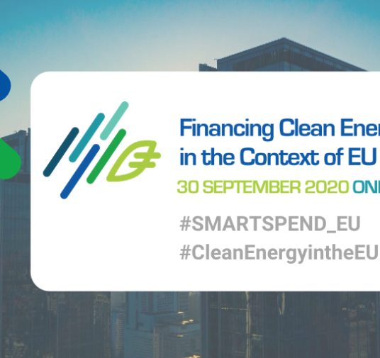 Financing Clean Energy Transition in the Context of EU Recovery · SMARTSPEND's Online Workshop